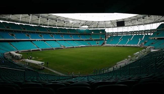 MP considera a Arena Fonte Nova aprovada, mas com restrições - Foto: Raul Spinassé | Ag. A TARDE