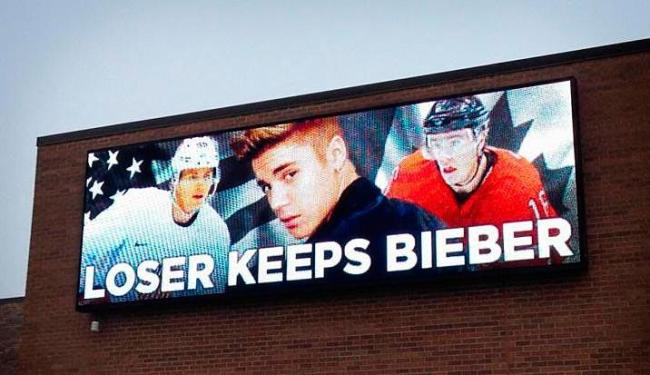Justin virou o