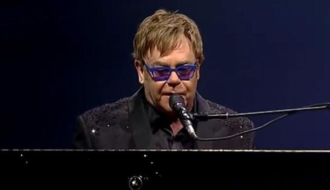 Elton John no show de Viña del Mar, no Chile - Foto: Reprodução