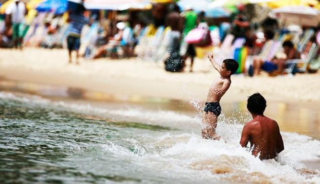 Mais de 30 praias foram avaliadas pelo Inema - Foto: Raul Spinassé / Ag. A TARDE