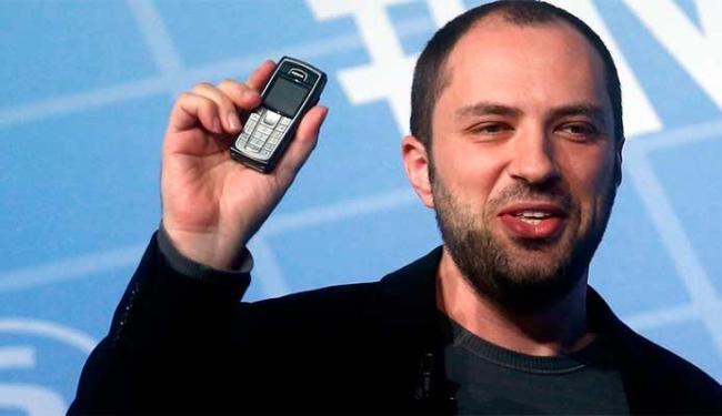 Criador do Whatsapp, Jan Koum anunciou a nova funcionalidade - Foto: Agência Reuters
