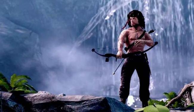 Game de Rambo sofre com gráficos ruins - Foto: Divulgação
