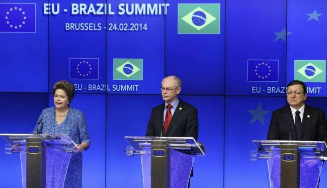 Dilma discursou no congresso e aproveitou para estender o convite aos executivos presentes - Foto: Francis Lenoir | Ag. Reuters