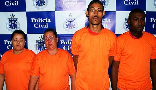 Suspeitos foram autuados e levados para o Núcleo de Prisão em Flagrante, na Mata Escura - Foto: Divulgação | Polícia Civil