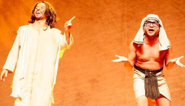 Hermanoteu Na Terra de Godah terá duas sessões na sala principal do TCA - Foto: Divulgação
