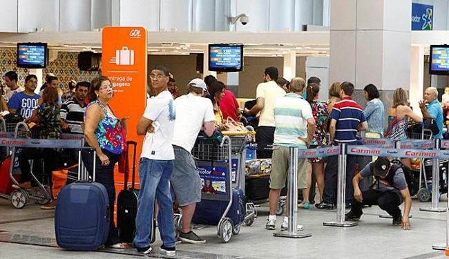 Crescimento do número de passageiros deve ser 7% em relação ao registrado no mesmo período de 2013 - Foto: Eduardo Martins   Ag. A TARDE
