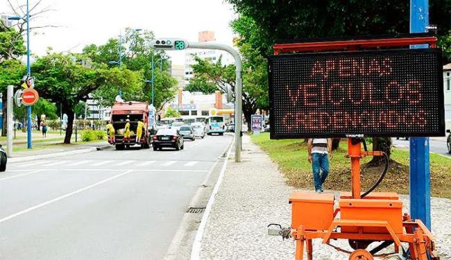 Aparelhos fornecem informações sobre opções e condições de tráfego - Foto: Divulgação | Agecom