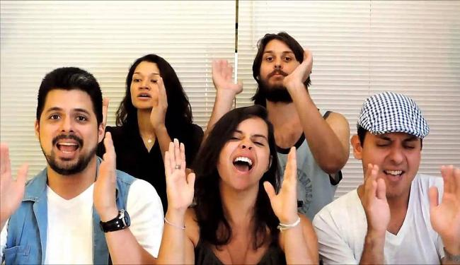 Grupo vocal MP7 - Foto: Divulgação