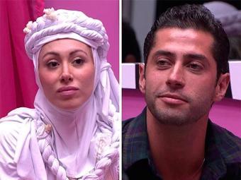 Aline foi a indicação do líder Valter, enquanto que Marcelo recebeu o maior número de votos da casa - Foto: TV Globo | Divulgação