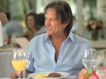 Roberto foi criticado por fazer propaganda de carne, que não comia há 30 anos - Foto: Reprodução | Youtube