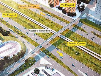 Corredor Transversal II passa pela avenida Luís Viana (Paralela) e chega até a orla - Foto: Divulgação