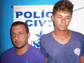 Autuados por tráfico, Wagner e Felipe estão custodiados na unidade policial de Iaçu - Foto: Divulgação/Polícia Civil