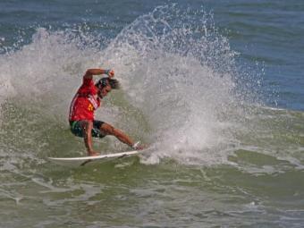Entre os baianos, Franklin foi melhor colocado no circuito brasileiro em 2013 - Foto: Fabriciano Júnior   Dendê Produções