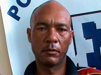 O mototaxista Cláudio (na foto) é suspeito de fazer distribuição das drogas - Foto: Divulgação   Polícia Civil