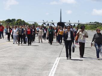 Os médicos desembarcaram em Salvador no dia 6 - Foto: Edilson Lima   Ag. A TARDE