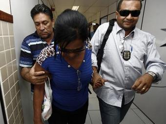 Nadja Carneiro Silva Almeida, acusada de ter mandado matar o filho, Rafael Silva Santos, 21 anos - Foto: Luiz Tito/Ag. A Tarde