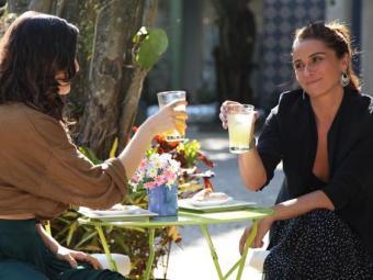 Clara e Marina voltam a trabalhar juntas - Foto: TV Globo