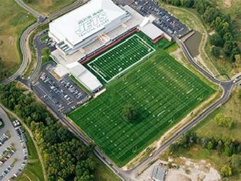 O complexo do New York Jets é um dos maiores e mais modernos dos EUA - Foto: Divulgação l Federação Portuguesa de Futebol