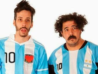 Juan Isola e Hermán Franco protagonizam série de humor sobre a Copa do Mundo - Foto: Divulgação