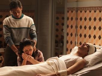 Décio é atacado por Manfred e sofre um traumatismo na cabeça - Foto: Divulgação   TV Globo