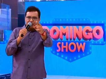 Geraldo Luís liderou o ibope na estreia do Domingo Show - Foto: Reprodução