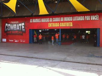 Combate das Marca no Pavilhão A do Centro de Convenções - Foto: Divulgação
