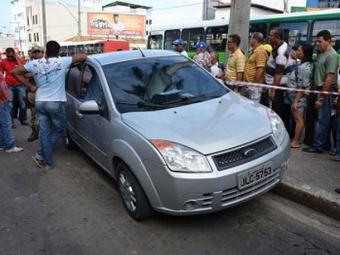 Após sofrer um infarto, motorista perdeu o controle e invadiu uma calçada - Foto: Divulgação | Blog do Anderson