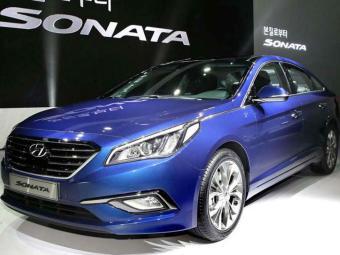 Hyundai mostra novo Sonata em Seul - Foto: AFP