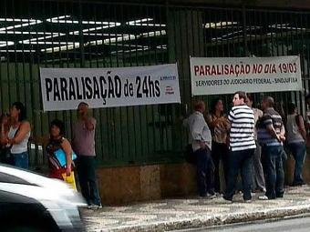 Servidores na Bahia aderem a movimento nacional - Foto: Christyans Barbosa | Cidadão Repórter