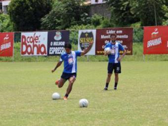 Time treinou cobranças de falta no Fazendão - Foto: Site do E.C. Bahia | Divulgação