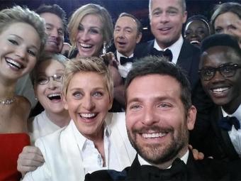 Selfie de Ellen DeGeneres durante Oscar foi um dos tuítes desaparecidos - Foto: Repordução   Twitter
