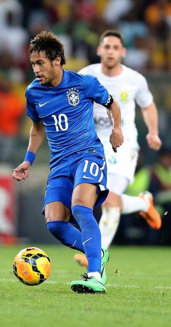 Neymar tem fortuna calculada de R$ 260,3 milhões - Foto: Jefferson Bernardes   VIPCOMM