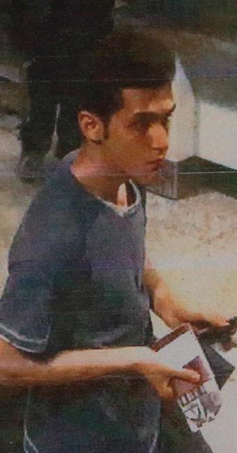 Imagem mostra suspeito que viajava com passaporte roubado - Foto: Agência Reuters
