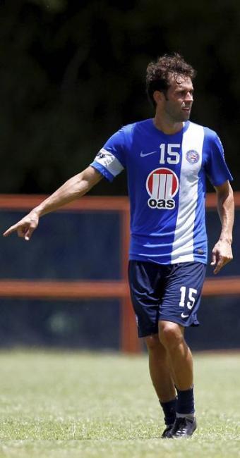 O meia vem demonstrando bom desempenho nos treinamentos - Foto: Eduardo Martins | Ag. A TARDE