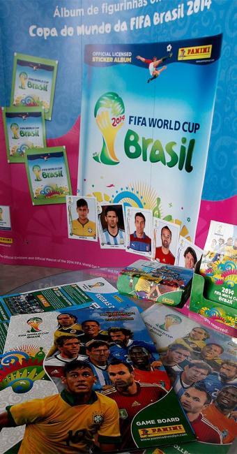 Álbum da Copa do Mundo chegará às bancas no dia 4 de abril - Foto: Paulo Whitaker l Reuters