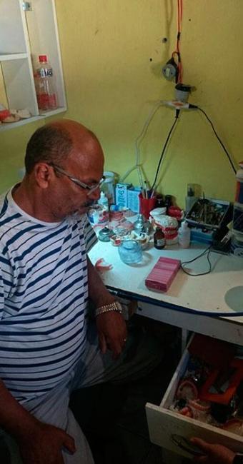 Antônio Alves trabalhava como dentista há 30 anos - Foto: Divulgação | Croba