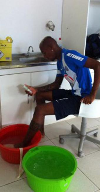 Talisca corre contra o tempo para estar disponível para o primeiro jogo da final - Foto: Esporte Clube Bahia | Divulgação