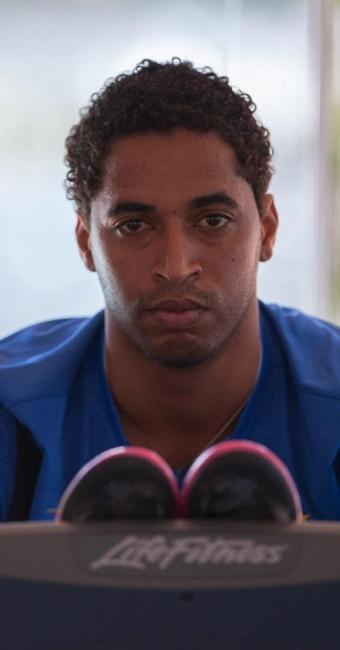 Lateral passou por três cirurgias no joelho e já faz treinos com bola no Fazendão - Foto: Dorivan Marinho | Ag. A TARDE