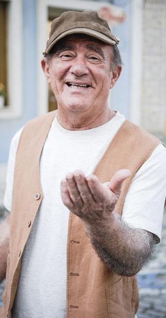 Renato estava internado desde o último sábado, quando sofreu um infarto - Foto: Divulgação | TV Globo