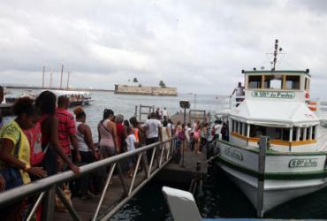 Travessia para Mar Grande retoma as atividades neste domingo, 22   Edilson Lima   Ag. A TARDE
