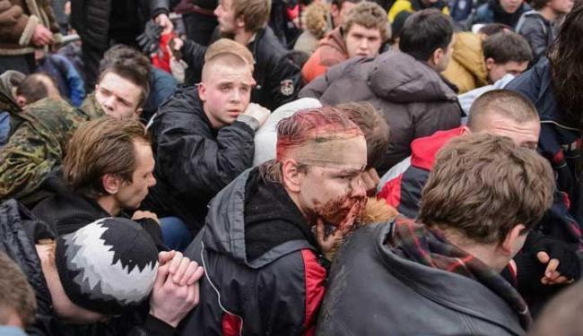 Ucrânia ainda sofre com novos protestos - Foto: Agência Reuters