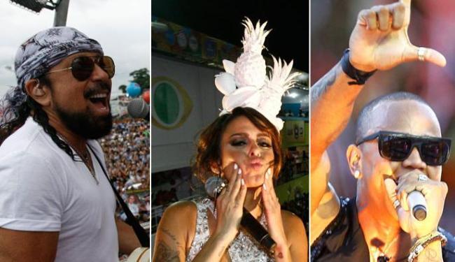 Bell, Alinne e Léo Santana iniciam carreira solo - Foto: Raul Spinassé e Eduardo Martins | Ag. A TARDE