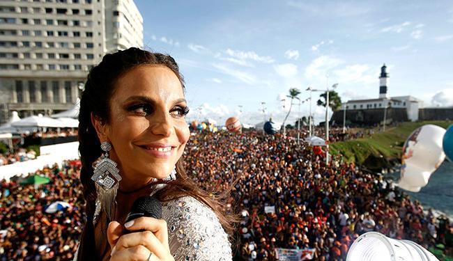 O desfile de Ivete começará às 10h - Foto: Raul Spinassé | Ag. A TARDE
