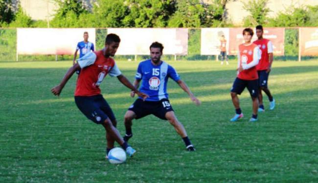 Lincoln participou do coletivo entre os reservas e será apresentado nesta sexta-feira - Foto: Esprote Clube Bahia | Divulgação