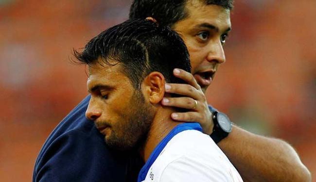 Apesar das lesões, jogador tem apoio de todos no Bahia - Foto: Eduardo Martins | Ag. A TARDE