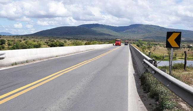 Um dos sentidos da rodovia será interditado para a realização das obras - Foto: Divulgação   Viabahia