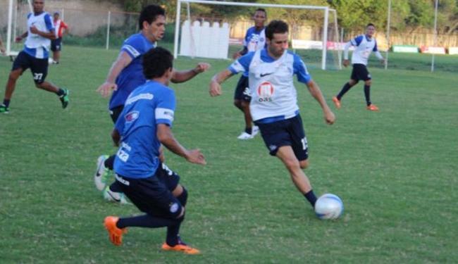 Lincoln participou dos treinos, mas ainda não tem condições legais para entrar em campo - Foto: Site do E.C.Bahia | Divulgação