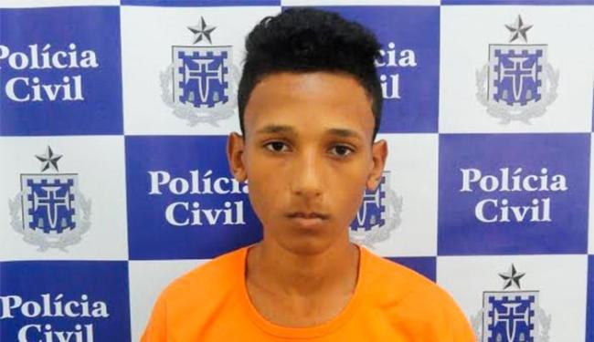 David foi capturado no Alto da Terezinha, no subúrbio ferroviário - Foto: Divulgação | Polícia Civil