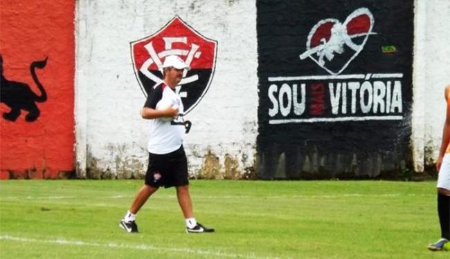 Ney Franco ainda não confirmou os titulares para o jogo deste domingo - Foto: Divulgação   E.C. Vitória