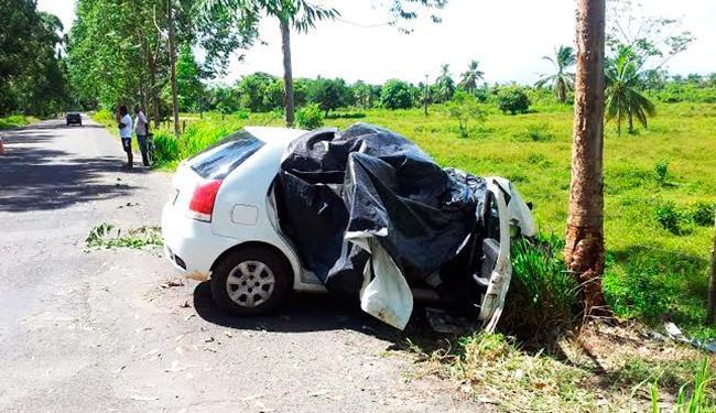 Acidente aconteceu próximo ao posto da Polícia Rodoviária Estadual - Foto: Wagner Darzan   Isto é Notícia